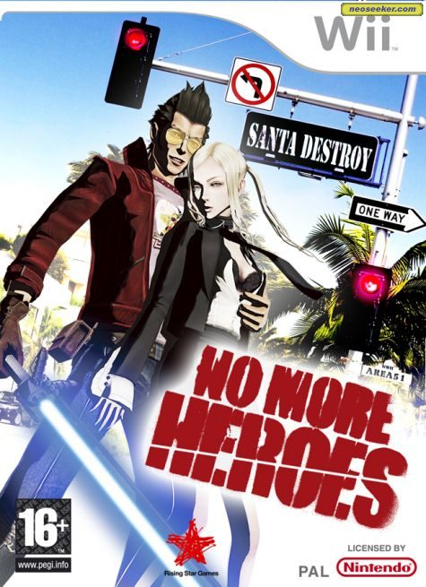 No More Heroes - Wii - PAL (Europe)