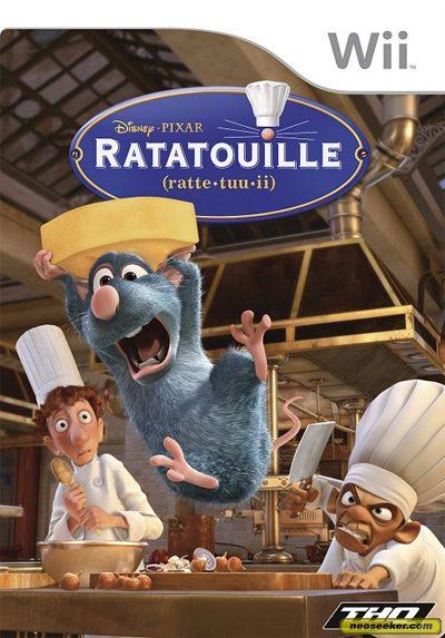 Ratatouille - Wii - PAL (Europe)