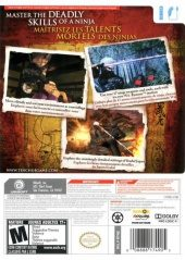 Tenchu: Shadow Assassins NTSC-U (North America) back cover box shot