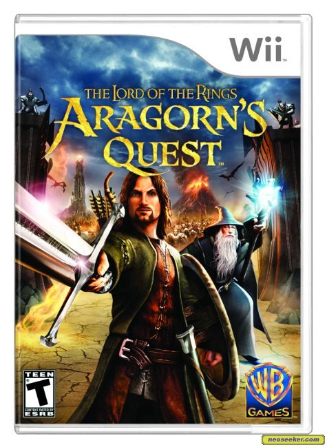 The Lord of the Rings: Aragorn's Quest - Wii - NTSC-U (North America)