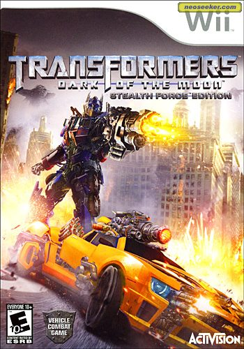 Transformers: Dark of the Moon - Wii - NTSC-U (North America)