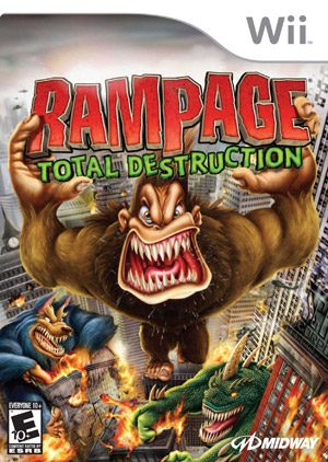 Rampage: Total Destruction - Wii - NTSC-U (North America)