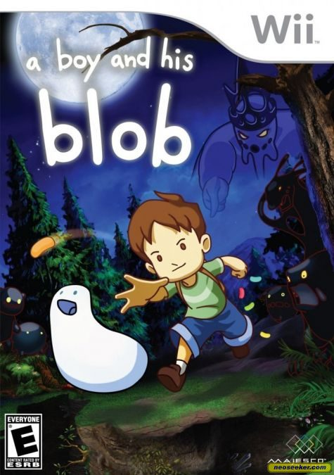 A Boy and His Blob - Wii - NTSC-U (North America)