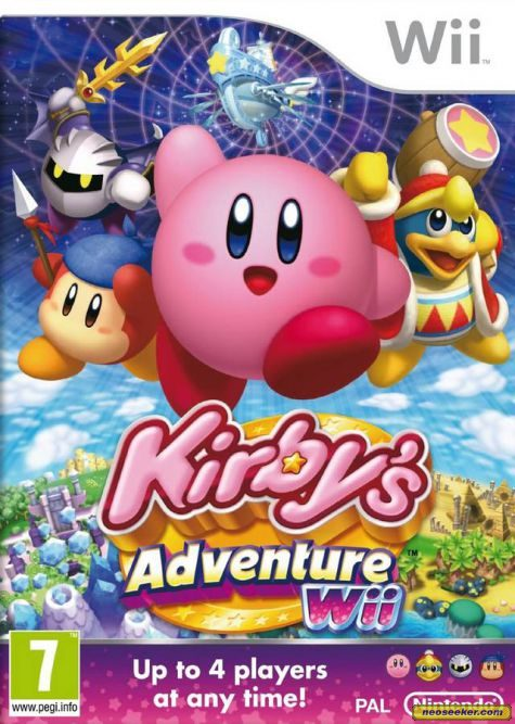 Kirby's Return to Dream Land - Wii - PAL (Europe)