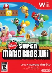 Box shot of New Super Mario Bros. Wii [North America]