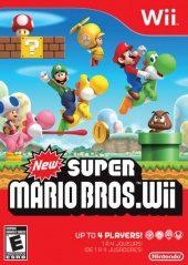 Box shot of New Super Mario Bros. Wii [North America]