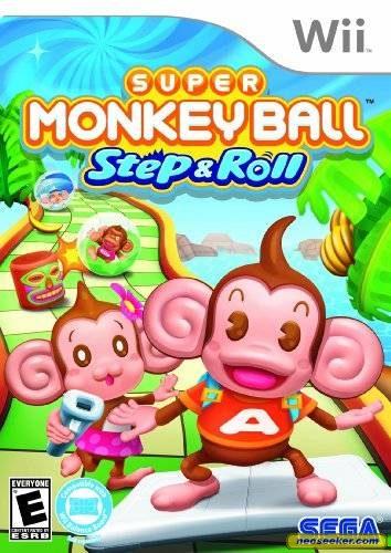 Super Monkey Ball: Step & Roll - Wii - NTSC-U (North America)