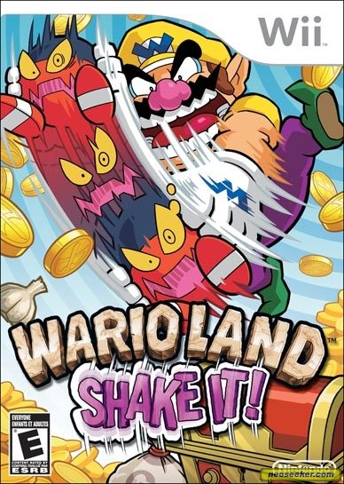 Wario Land: Shake It! - Wii - NTSC-U (North America)