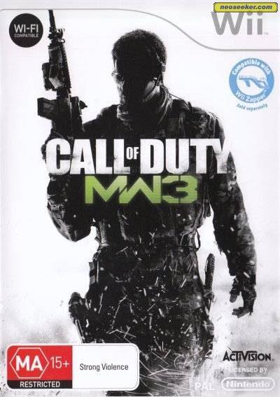 Call of Duty: Modern Warfare 3 - Wii - PAL (Australia)