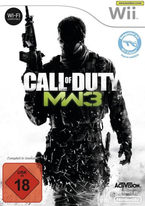 Call of Duty: Modern Warfare 3 - Wii - PAL (Europe)