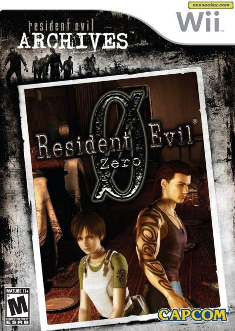 Resident Evil Archives: Resident Evil Zero - Wii - NTSC-U (North America)