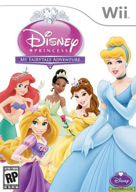 Disney Princess: My Fairytale Adventure - Wii - NTSC-U (North America)