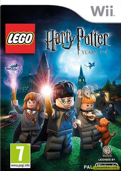 LEGO Harry Potter: Years 1-4 - Wii - PAL (Europe)