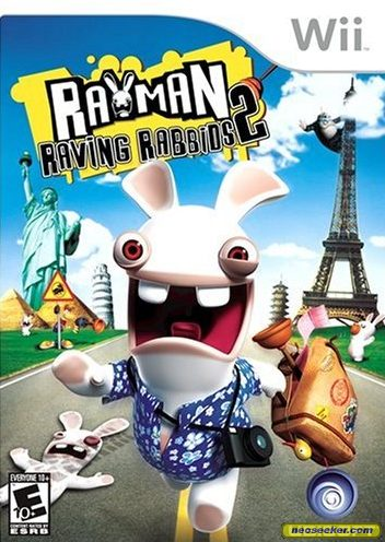 Rayman Raving Rabbids 2 - Wii - NTSC-U (North America)