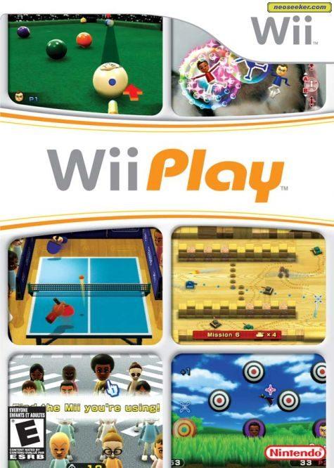 Wii Play - Wii - NTSC-U (North America)