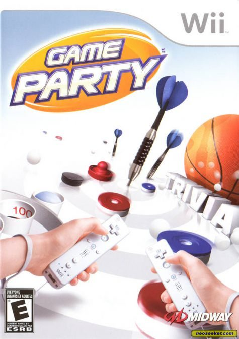 Game Party - Wii - NTSC-U (North America)
