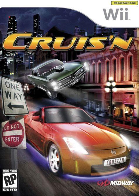 Cruis'n - Wii - NTSC-U (North America)