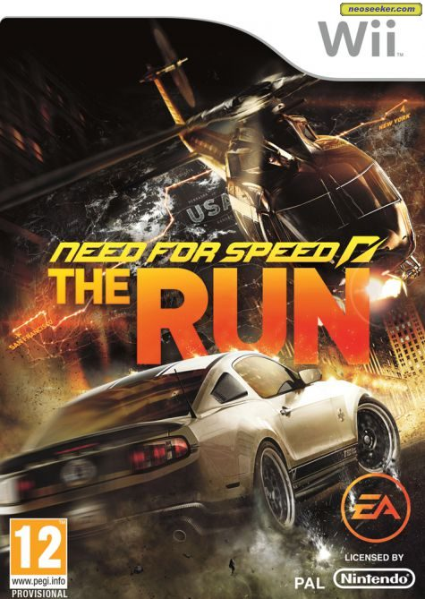 Need for Speed: The Run - Wii - NTSC-U (North America)
