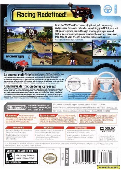 Excitebots: Trick Racing - Wii - NTSC-U (North America)