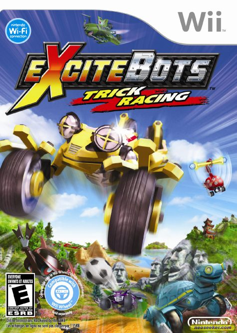 Excitebots: Trick Racing - Wii - NTSC-U (North America)