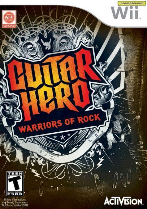 Guitar Hero: Warriors of Rock Wii Front cover