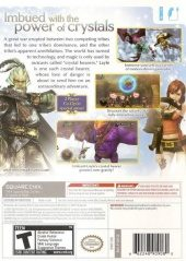 Final Fantasy Crystal Chronicles: The Crystal Bearers NTSC-U (North America) back cover box shot