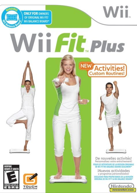 Wii Fit Plus - Wii - NTSC-U (North America)