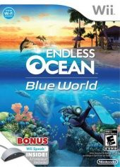 Box shot of Endless Ocean Blue World [North America]