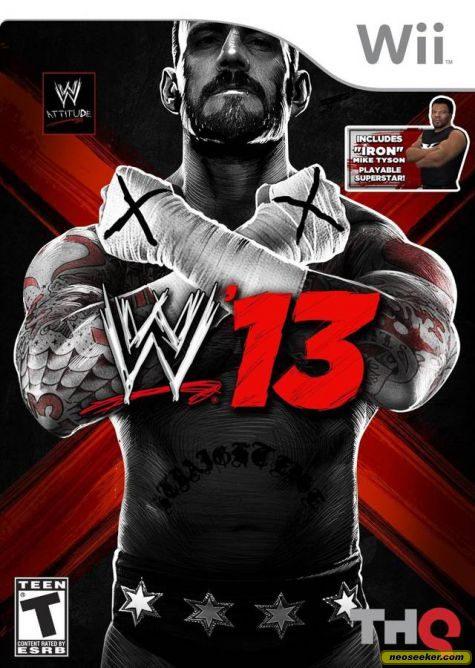 WWE '13 - Wii - NTSC-U (North America)