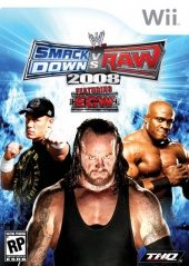 Box shot of WWE SmackDown vs. RAW 2008 [North America]