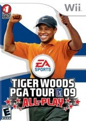Box shot of Tiger Woods PGA Tour 09 All-Play [North America]