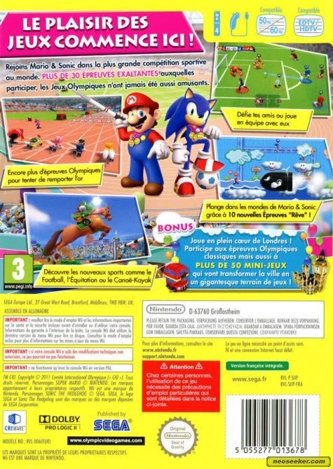 Mario And Sonic At The London 2012 Olympic Games Cheats