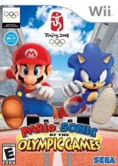 Box shot of Mario & Sonic at the Olympic Games [North America]