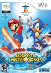 Box shot of Mario & Sonic at the Olympic Winter Games [North America]