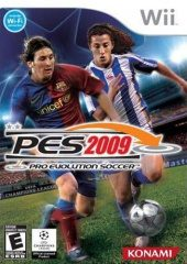 Box shot of Pro Evolution Soccer 2009 [North America]