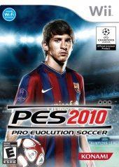 Box shot of Pro Evolution Soccer 2010 [North America]