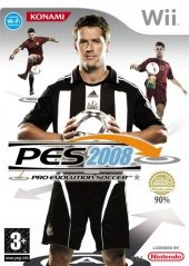 Box shot of Winning Eleven: Pro Evolution Soccer 2008 [Europe]