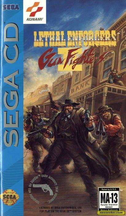 Lethal Enforcers II: Gun Fighters - SEGACD - NTSC-U (North America)
