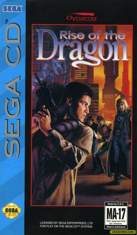 Rise of the Dragon - SEGACD - NTSC-U (North America)