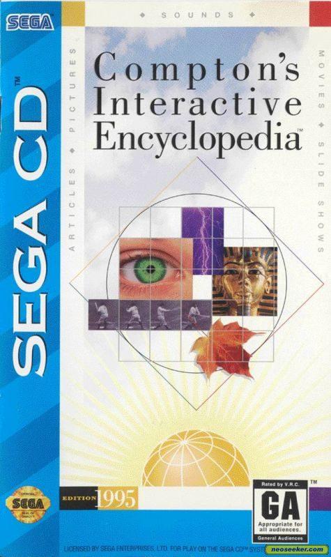 Compton's Interactive Encyclopedia SEGACD Front cover