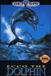 Ecco The Dolphin NTSC-U (North America) front boxshot