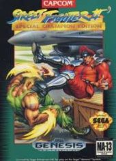 Box shot of Street Fighter II: Special Champion Edition [North America]