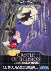 Castle of Illusion Starring Mickey Mouse PAL (Europe) front boxshot