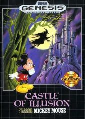 Castle of Illusion Starring Mickey Mouse NTSC-U (North America) front boxshot