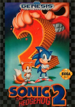 Sonic The Hedgehog 2 - GENESIS - NTSC-U (North America)