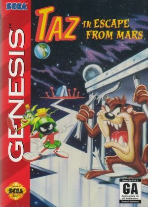 Taz in Escape from Mars - GENESIS - NTSC-U (North America)