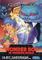Box shot of Wonder Boy in Monster World [Europe]