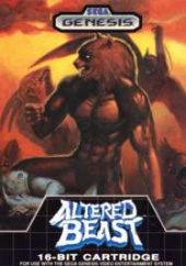 Altered Beast (North America Boxshot)