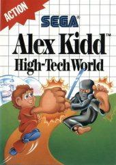 Box shot of Alex Kidd: High Tech World [North America]
