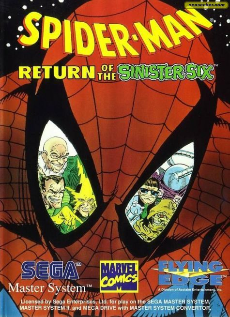 Spider-Man: Return of the Sinister Six - SEGAMS - PAL (Europe)